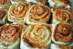 Cheese and bacons scrolls - absolutely delicious!