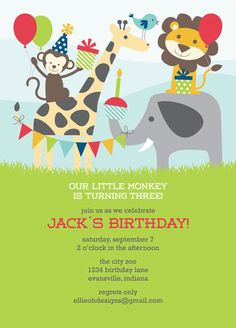 Birthday at the Zoo by Lisa Schaefer