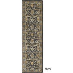 Artistic Weavers Hand Tufted Telford Floral Wool Rug (2'3 x 12')