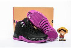 "factory price 73304 cc26c Online 2017 Girls Air Jordan 12 ""Hyper Violet"". Cheap SneakersDiscount ..."