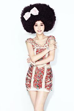 Interesting...Will Natural Afro hair be the next big trend for other cultures???  ...wouldn't see why not...Naturally Kinky Coily hair is HOTT!!!
