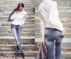 Looks to Inspire: Lace me, lace me not (by Lidia ♫♪♫) on Lookbook.nu