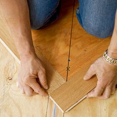 Establish the Pattern | How to Install a Herringbone Floor | This Old House