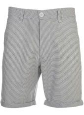 WHITE AND BLUE STRIPE SHORTS  £30.00 from Topman