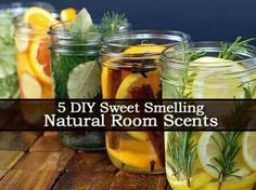 5 DAY natural sweet smelling room scents