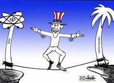Iran vs. Saudi Arabia - USA BALANCE