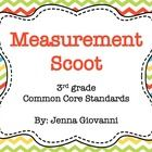 Practice or review measurement in a fun way by using these cards to play Scoot or for a classroom Scavenger Hunt. These cards are aligned to the 3r...
