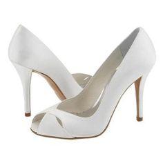 Stuart Weitzman Bridal - Sashay (White Satin) - Footwear, $97.50 | www.findbuy.co