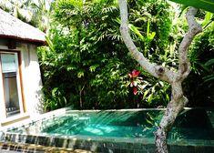 Our own little swimmingpool in Ubud Maya Resort!