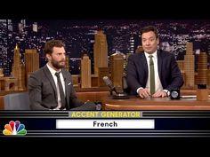 """Hilário! Jamie Dornan lê """"50 Tons de Cinza"""" com diferentes sotaques - http://metropolitanafm.uol.com.br/novidades/entretenimento/hilario-jamie-dornan-le-50-tons-de-cinza-em-varios-idiomas"""