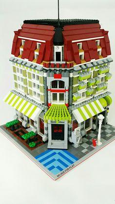 Noageforplay moc Lego green building