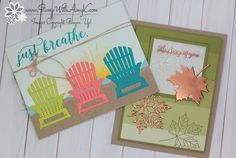 We are back with another Stamp to Share International Design Team Blog Hop with Stampin' Up! Demonstrators from all over the world! This month we're featuring the Colorful Seasons stamp set bundle…