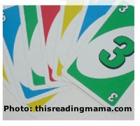 Number Games with Uno Cards