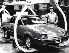 Ford EXP 1981 Assembly line