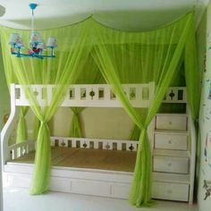 bunk bed tent diy