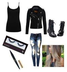 """""""Concert time!!!"""" by allerinavang1818 ❤ liked on Polyvore featuring M&Co, Superdry and BBrowBar"""
