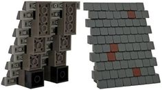 LEGO shingles & roofing techniques: