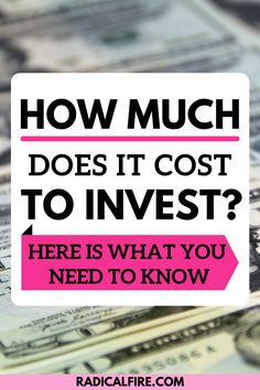Investing is another way to grow your wealth, it may not be easy but definitely adding to your net worth. If you're looking for best way to invest money, there are plenty of options available. From investing in stocks to becoming investors of all stripes that can find ways to make their money work for them. And, you know what they say: The higher the risk, the bigger the reward! That's sounds great and all, but how much does it costs you? Find out here! Investing In Stocks, Investing Money, Stock Advisor, Best Way To Invest, Dividend Investing, Creating Wealth, Finance Organization, Financial Peace, Managing Your Money