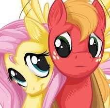 My Little Pony: Friendship is Magic Fluttershy and Big Macintosh