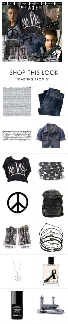 """""""Highway to hell..."""" by stylerocking009 ❤ liked on Polyvore featuring Gibson, Tim Holtz, Gap, United Rockers, Presh, Alexander Wang, Scosha, Nana de Bary, Chanel and Juliette Has A Gun"""