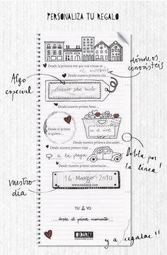 Regalo personalizado para San Valentin // St Valentine personalized gift…                                                                                                                                                                                 Más