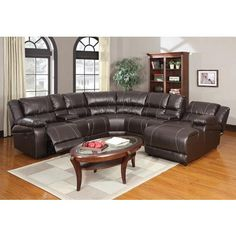 White Leather Sofa ACM pc Zanthe collection espresso bonded leather power motion sectional sofa with recliners consoles