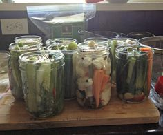 Quick Refrigerator Dill Pickles - Mountain Mama Cooks