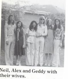 Rush and the women who love them (Neil's Jackie).