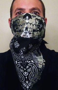 how to put on a bandana mask