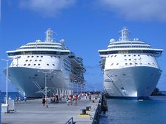 Life doesn't get better than this!  C2C Travels can get you on ONE of these ships! www.c2ctravels.com