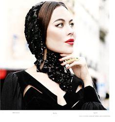 Ulyana Sergeenko... i love that lady, she brought something very Russian to modern fashion world <3