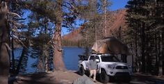 Toyota Tacoma...Camping in Action!