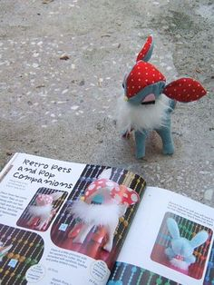 Retro fawn deer plushie stuffed<br /> animal