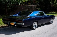 Dodge Charger. love the deep blue