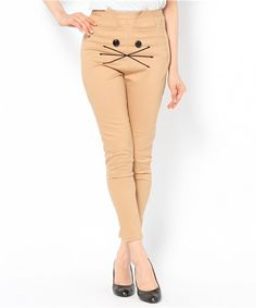 Cat Skinny Pants, just kind of creepy, especially on skin toned pants