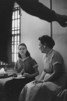 Caril Ann Fugate the girlfriend and confederate of teenage murderer Charles Starkweather in jail, 1958. (Photo by Carl Iwasaki/The LIFE Images Collection/Getty Images)