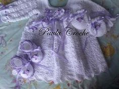 Sweety Baby Knitting Dress