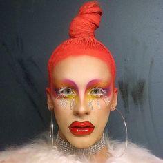 come twirl w me & all the QTs tonite @ ICY HOT @berlinnightclub ❄️❄️ ( @sugarpill, ✨ @gogetglitter,  @kryolanofficial,  @coletoons) #clubkid #drag #dragqueen #trans #transgirl #femme #nonbinary #queer #art #artist #fashion #makeup #mua #motd #sugarpill #hoops #glitter #impqueen