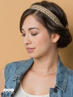 Cute headbands and for a good cause. Every headband purchased gives 3 meals to people in Uganda