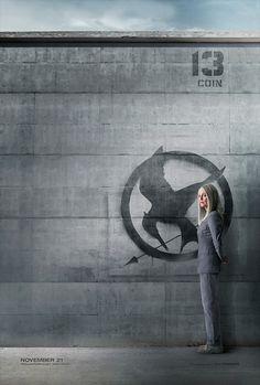 District 13 - President Alma Coin poster