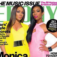 Monica + Brandy for Ebony magazine