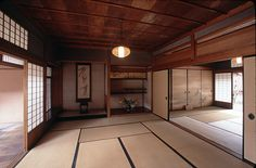 A Tatami room in the Yoshijima House, Takayama, Japan.