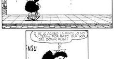 Festejando el cumpleaños no oficial de Mafalda