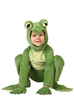 Little Boys Toddler Deluxe Frog Costume 18 Months