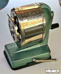 80s technology - Visit a local school near you for the latest in high tech pencil sharpeners!  AmericasFootprints.com