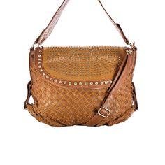 BALIBELTS Studio Embellished Flap Over Satchel Cognac up to 70% off | Handbags | Little Black Bag
