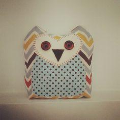 owl doorstop by teeny tiny house, via Flickr