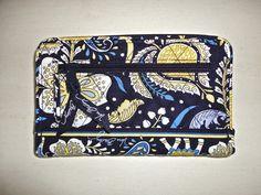 Vera Bradley wallet : Ellie Blue