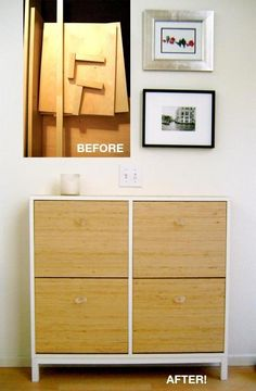 How To: Make a Shoe Cabinet Landing Strip