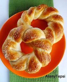 Bread Dough Recipe, Homemade Dinner Rolls, Sweet Cookies, Hungarian Recipes, Sweet Pastries, Fresh Bread, Dessert Recipes, Desserts, Winter Food